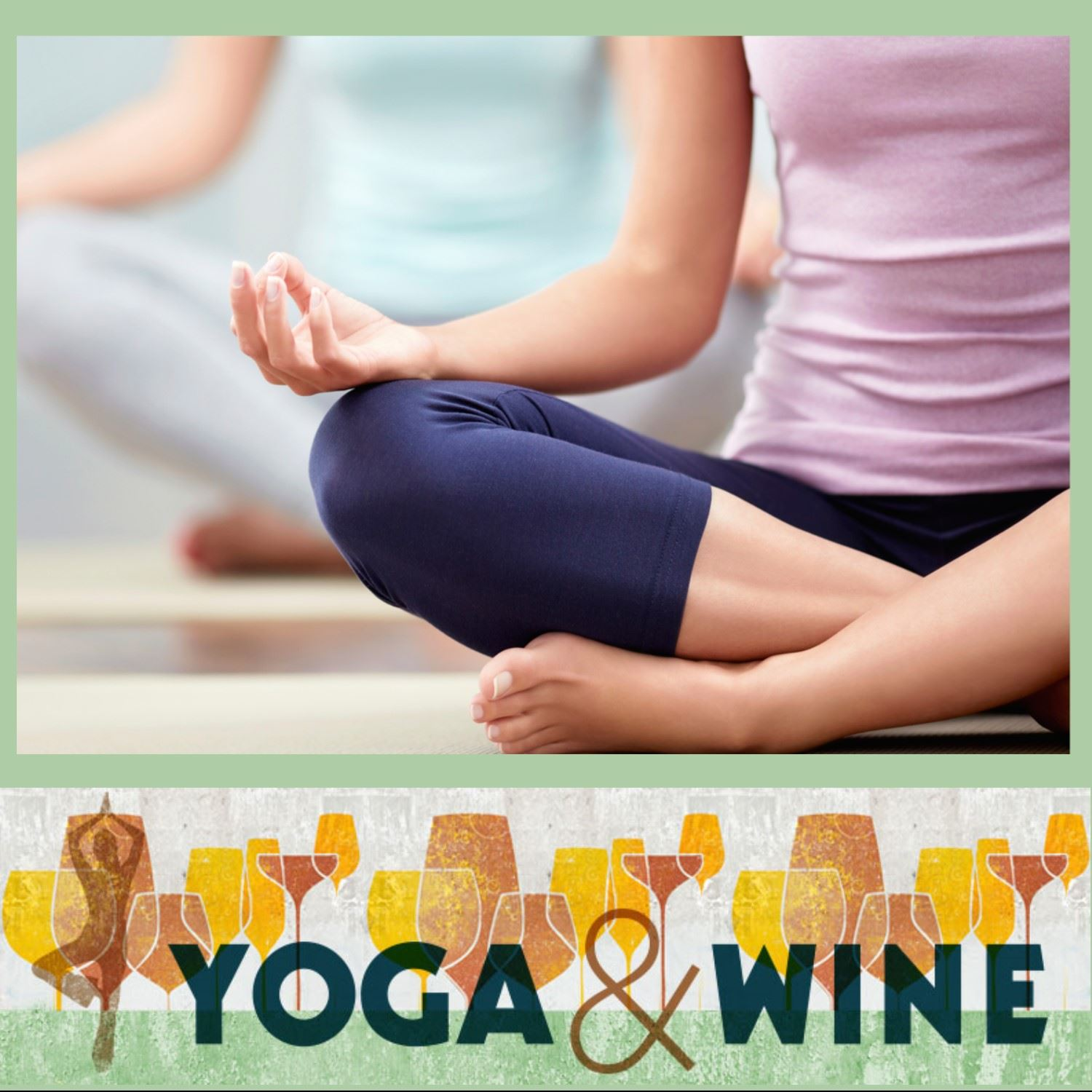 Yoga and Wine Event (square)